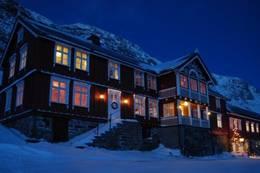 Fasaden av gården -  Foto: Guro Sandvik