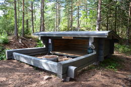 Nærbilde av Grevlinghuken -  Foto: DNT Vansjø