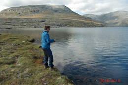 Det er bra med fisk i vanna rundt Tjønnebu - Foto: Jan-Arve Skogtrø