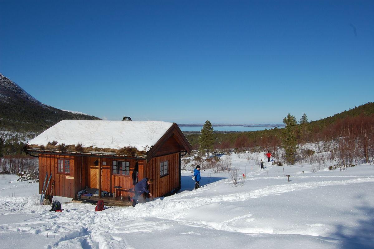 Vinterdag på Gullsteinvollen