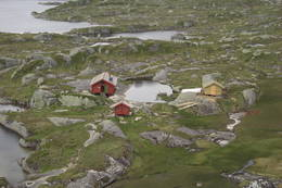 Utsikt mot Børsteinen  - Foto: Hilde Trøan