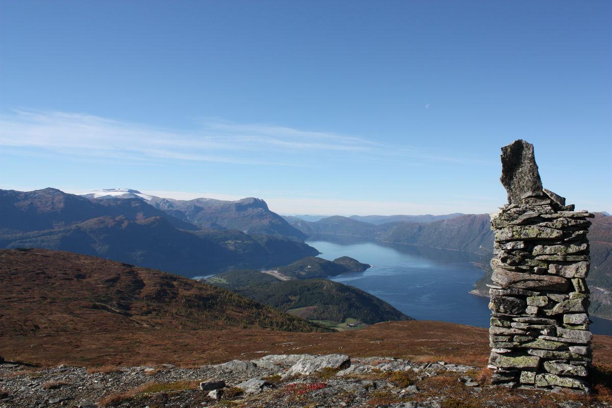 God utsikt på 862 moh
