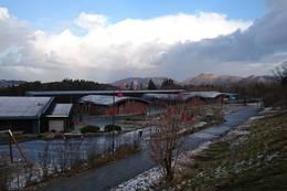Utsikt ved Smeaheia Skole - Foto: Anette Hauge