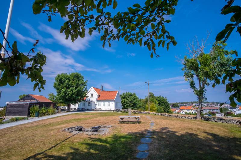 Byhaugen midt på sommeren.  - Foto: John Petter Nordbø