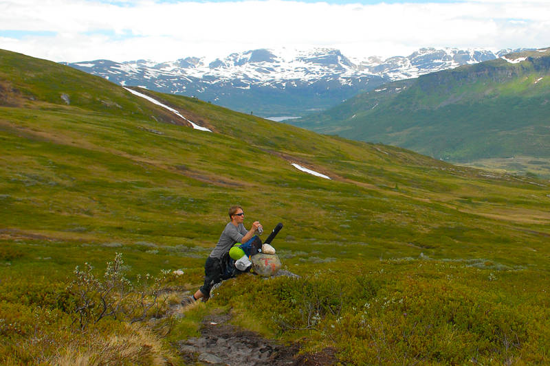 Hardangervidda på langs (Sommer) Finse Haukeliseter