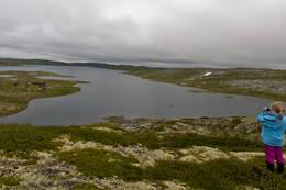 Panoramabilde av Store Krækkja - Foto: Frode Drønen