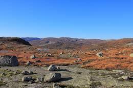 Utsikt fra Steindalsknuten mot sørvest -  Foto: Lister Friluftsråd