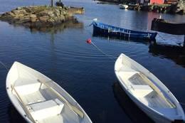 Robåter til Gammeløya - Foto: DNT Sør