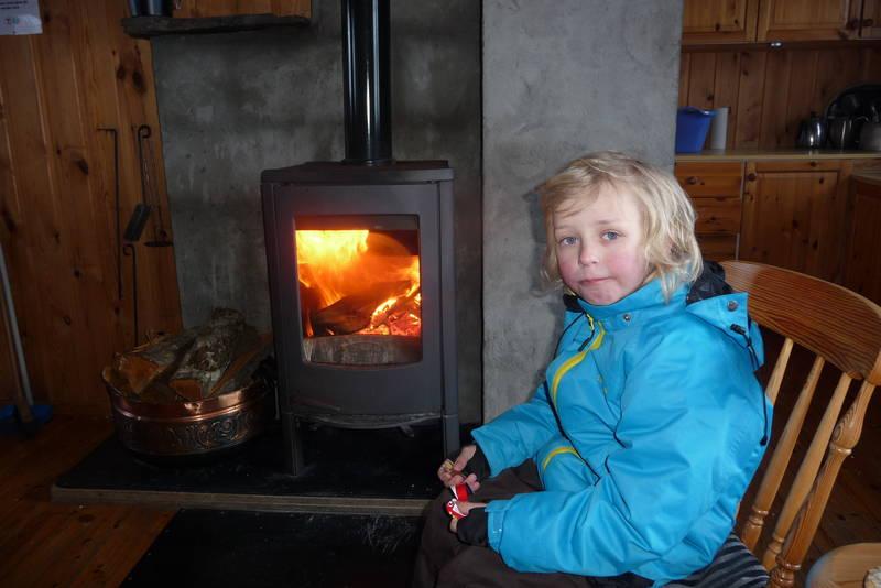 Kjempegod ovn på Storevassbu!  Hilsen Tobias