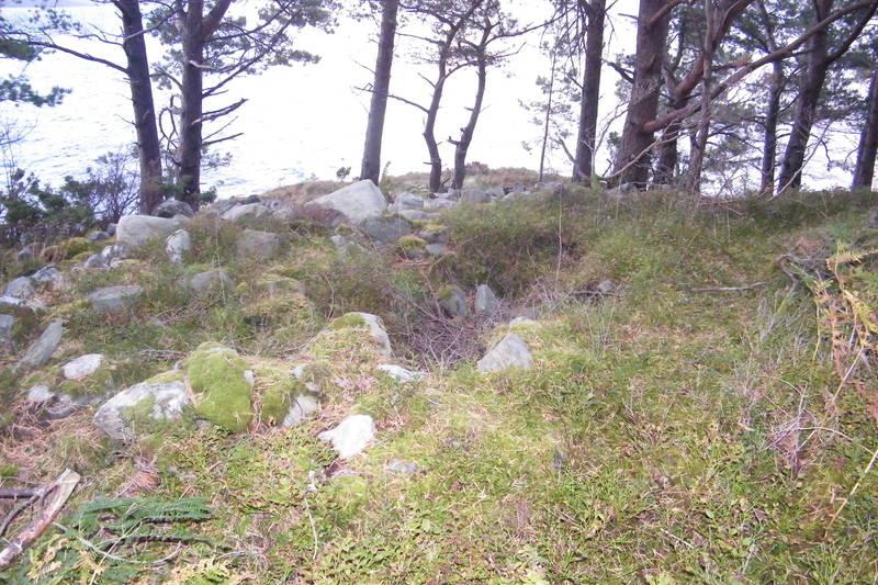 Gravrøys på Røysanes
