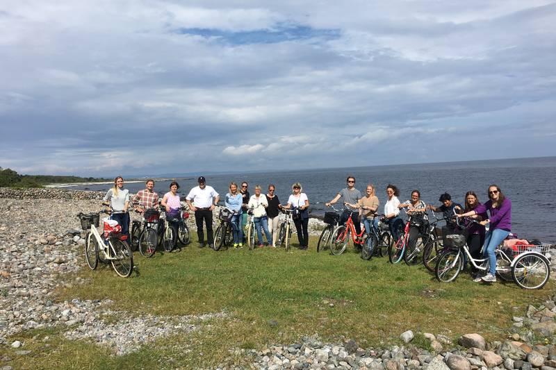 Tangplassen på sykkeltur