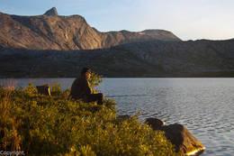 Fiske ved Jierdajavrre - Foto: Kjell Fredriksen