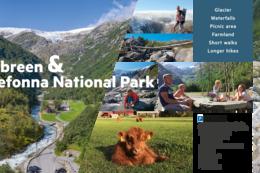 Buarbreen og Folgefonna Nasjonalpark -  Foto: Elisabeth og Bjørn Buer