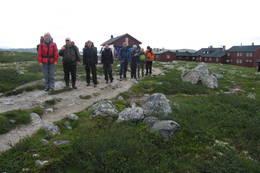 Klare til avgang fra Krækkja - Foto: Telemark Turistforening