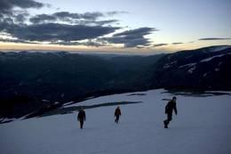 På vei mot toppen -  Foto: Jon Olav Volden