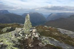 Varde på Skafonnfjellet - Foto: Anne Cecilie Kapstad