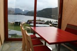 Mat med utsikt er slagordet til Preikestolen fjellstue - Foto: Preikestolen fjellstue