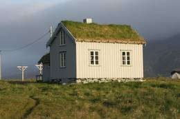Gammelhuset i Skipsfjorden fotografert i juli 2015. Foto: Harald Strand -  Foto: Harald Strand