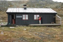 Tjørnbrotbu - Foto: Aust-Agder Turistforening