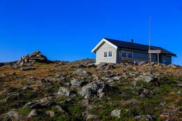 Hytta på Steiroheia -  Foto: Gunnar E Nilsen
