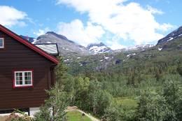 Utsikt fra Reindalseter mot Hulderkoppen - Foto: Knut Gjerde