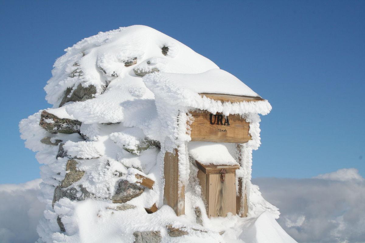 Toppvarden i vinterdrakt