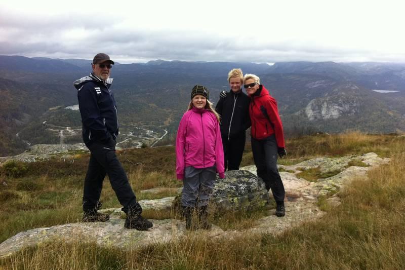 På toppen av Løefjell
