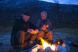 Bålkos i Gjerdalen - Foto: Kjell Fredriksen