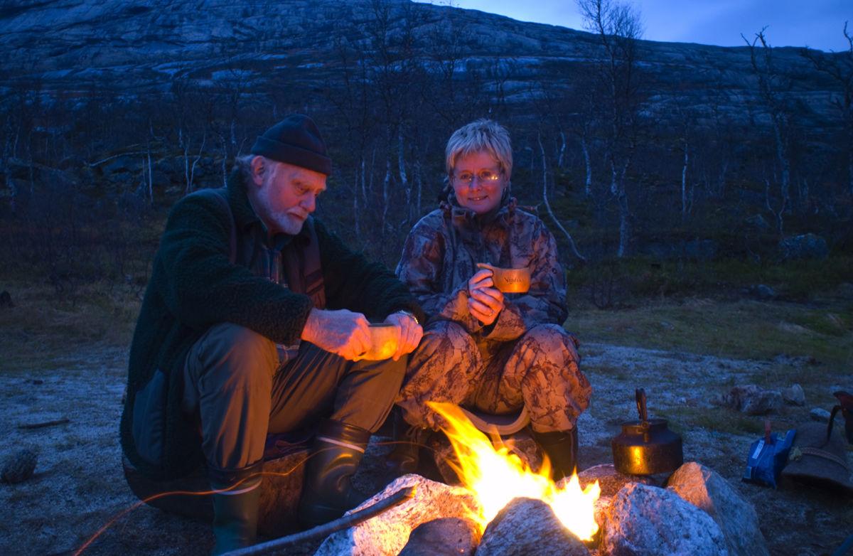 Bålkos i Gjerdalen