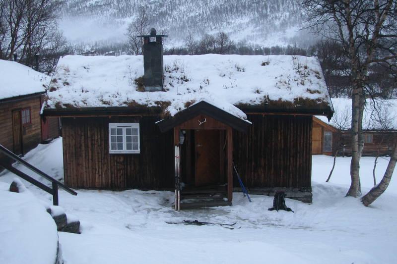 Vinterkvarteret på Vangshaugen i Nordmøre, januar 2013.