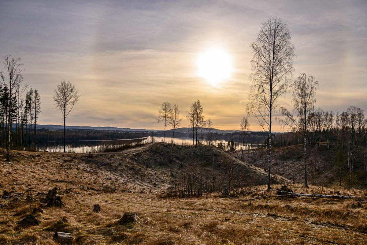 Utsikt Hvamshaugen