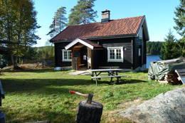 DNT-hytta Ravnsjø -  Foto: Karl Johan Trollerud