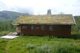 Saltfjellstua, bestandig bra vær når jeg er der! I tillegg er det den definitivt flotteste hytta på Saltfjellet! -  Foto: Espen Zahl
