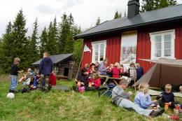 Endelig fremme på Sommerseter - Foto: Selander
