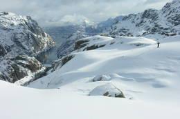 Skitur ved Trollfjorden - Foto: Trond Løkke