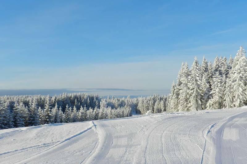 Utsikt mot nord fra Pruterudkoia.
