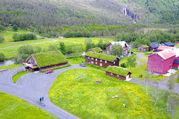Fjellgården Kårvatn i Surnadal kommune. - Foto: Jonny Remmereit