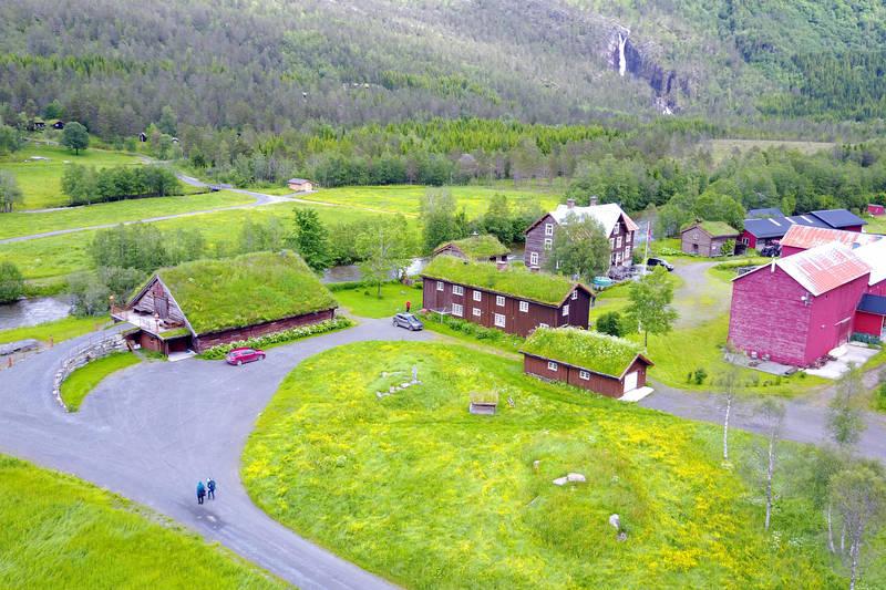 Fjellgården Kårvatn i Surnadal kommune.