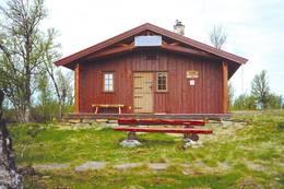 Vetåbua, hovedhytta - Foto: Lillehammer og Omland Turistforening
