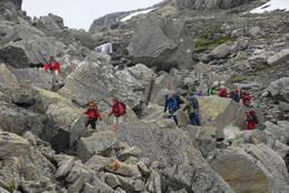 Turistskar når snøen har smeltet - Foto: Odd Inge Worsøe