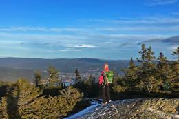 Tåråfjell 826 moh med utsikt mot Notodden -  Foto: Ottar Kaasa