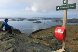 Rennesøyhornet 234 moh -  Foto: Torin