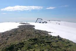 Keipen sett fra platået under Plogen. - Foto: Svenn-Petter Kjerpeset.