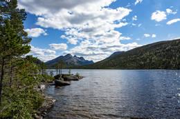 Svartvatnet og utsikt mot Stolofjella - Foto: Kjell Fredriksen