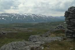 Flott utsikt fra toppen (1149 moh) -  Foto: Jon Christopher Knudsen
