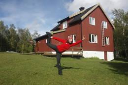 Velkommen til Gjælentunet. <br />Her er det plass til mange.  - Foto: Tor Magne Andreassen