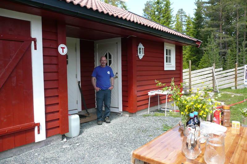 Stolt Rune Øverli foran Vesterås