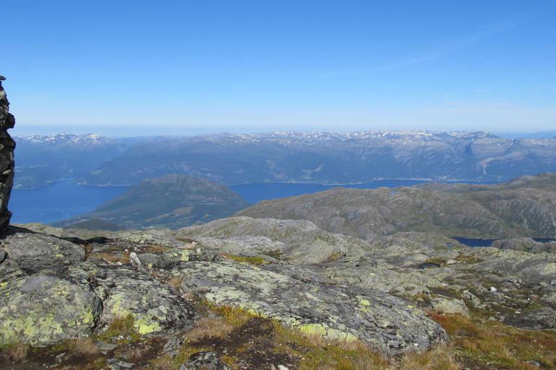 Utsikt mot nordvest