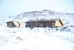 Vinter ved Hevertjønna - Foto: Ukjent