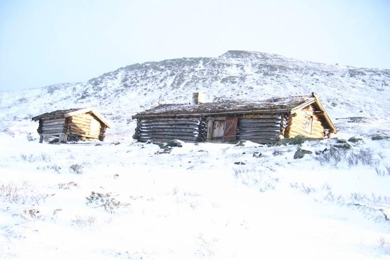 Vinter ved Hevertjønna